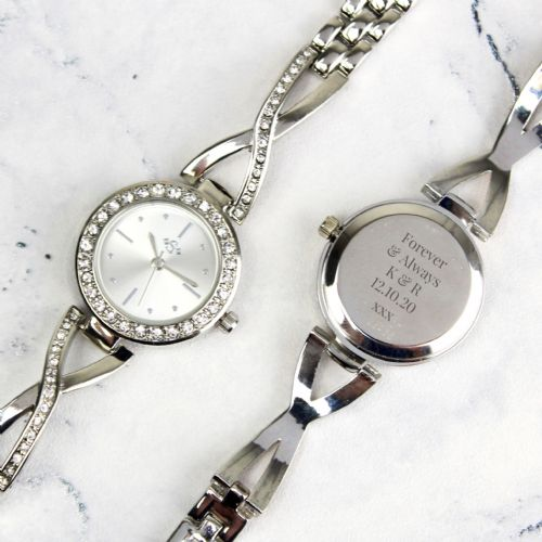Silver Ladies Infinity Watch